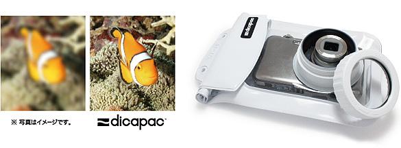 デジタルカメラ防水ケース