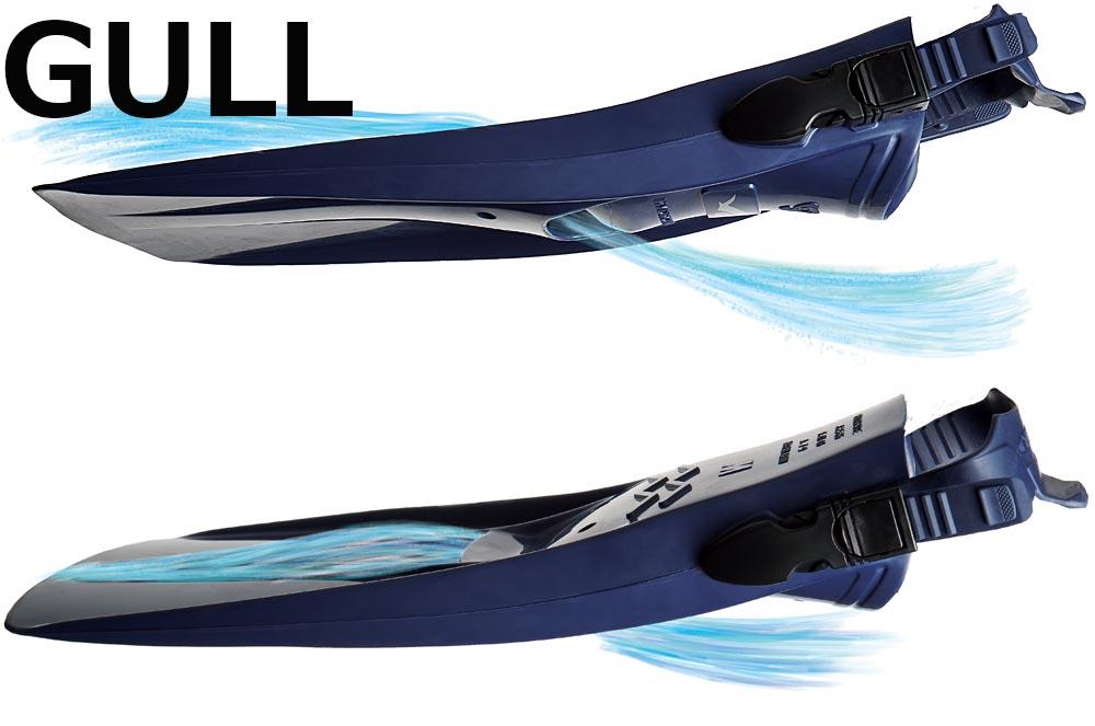 ダイビングフィン GULL(ガル)HYDRO THRUST(ハイドロスラスト)【人気・おすすめ】