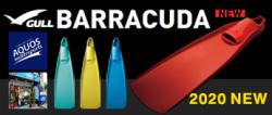 究極のラバーフィンbarracuda2015