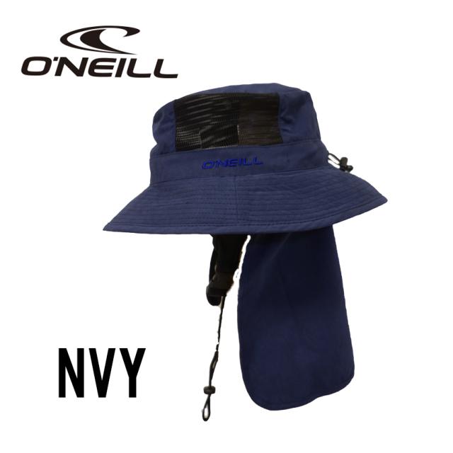 大人用帽子日よけ対策ONEILL(オ二ール)サーフハットメンズ 610906